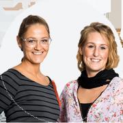 Sarah Große-Rechtien und Malina Klenke
